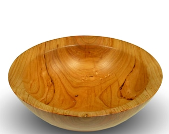 Handmade  Cherry Wood Bowl - The Simpleton