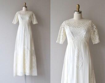 Marseillaise wedding gown | vintage 1960s wedding dress | 60s lace wedding dress