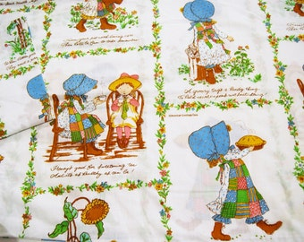 Vintage Pair of Holly Hobby Pillowcases