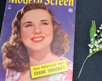 May 1944 Modern Screen Magazine