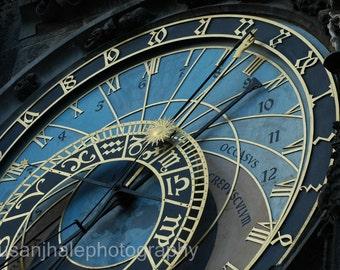 Astronomical Clock - Prague - 4 x 6 photograph