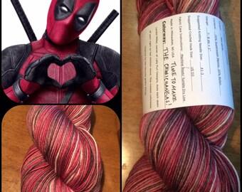 Time To Make The Chimichangas- 462 yds/ Sock Yarn