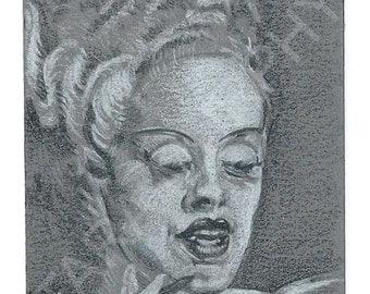 The Bride of Frankenstein ACEO