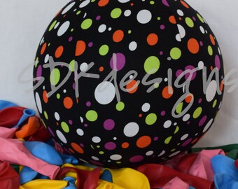 Balloon Ball - Halloween Dots - Great Party Decor or Gift - as seen with Michelle Obama on Parenting.com