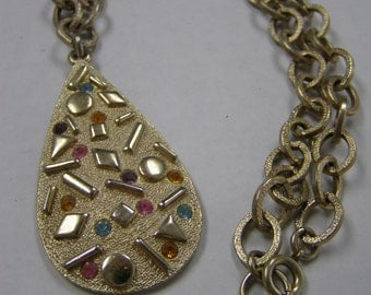 Sarah Coventry Pendant Necklace with Chain