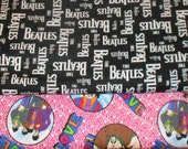 BEATLES Fabrics, Sold INDIVIDUALLY not as a group, by the Half Yard