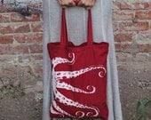 OCTOPUS Eco-Friendly Market Tote Bag - Hand Screen printed (Ships FREE!)