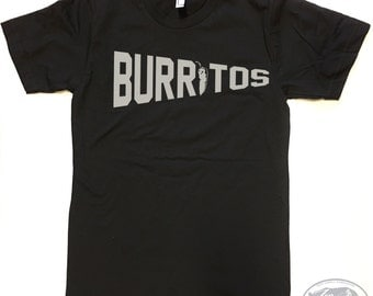 Men's BURRITOS t shirt american apparel S M L XL (17 Colors)