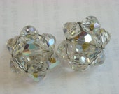 RESERVED FOR PATTYCAKE539  austrian crystal beads earrings  ( A 29 )