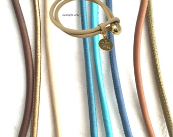 4mm Nappa Leather Lambskin Cord - 8 colours available