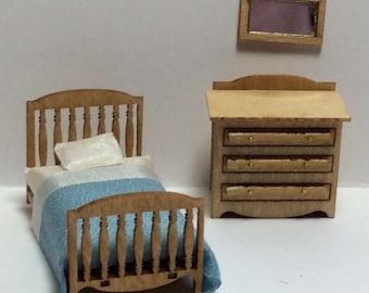 Quarter Inch Traditional Child's Room Furniture Kit