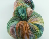 Jest Sparkle 2ply Merino/Nylon/Stellina Sock - Grotto Not Repeatable