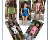 18 inch Dolls Clothes  Girl Dolls Clothing - Swimsuit - your choice of color