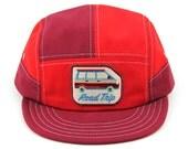Van Red 7 Panel Walter Hat