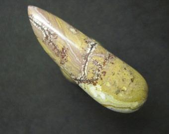 Sonora dendritic jasper freeform cabochon