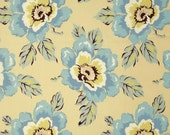 COUPON CODE SALE - Amy Butler, Gypsy Caravan, Wild Poppy, Milk, Rowan Westminster, 100% Cotton Quilt Fabric, Floral Quilting Fabric