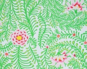 COUPON CODE SALE - End of Bolt - Kaffe Fassett, Ferns, White, Rowan Westminster, 100% Cotton Quilt Fabric, Floral Fabric, Quilting Fabric
