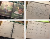 Customizable teacher's lesson plan book