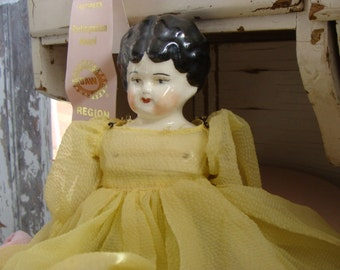 Beautiful Antique German Signed Heirloom Doll