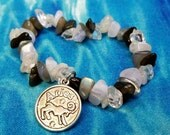 Zodiac Bracelet - Astrology - Custom Zodiac Bracelet - Gemstone Bracelet - Birth Sign Bracelet - Natal Chart - Beaded Bracelet