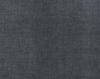 SPRING SALE - 1 7/8 Yard Cut - Crossweave in Black - Moda Fabric - 12119 53