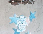 Custom for Duraye Guardian Angel Watching Over You Personalized Wind Chimes