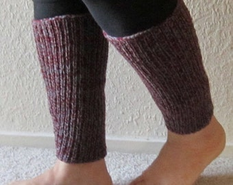 Leg Warmer in Mauve and Gray Color (On Sale!)