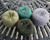 Knit Picks Lace weight yarn assortment - 4 yarns  - 1700 yards total