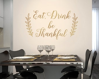Dining Room Decals Etsy - Dining room wall decals