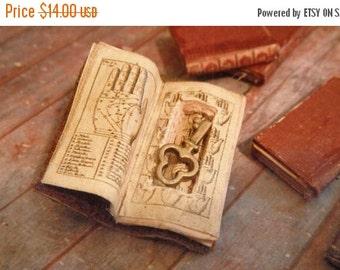 ON SALE Miniature Book with Secret Compartment