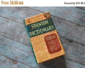 ON SALE Miniature Spanish Dictionary
