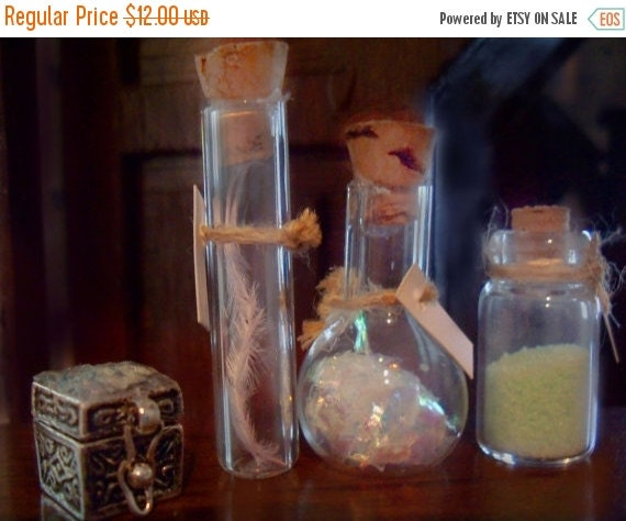 ON SALE Miniature Potions Bottles