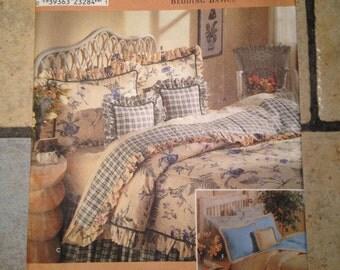 1999 Simplicity Home 8898 Bedding Basics Quilt Pattern UNCUT