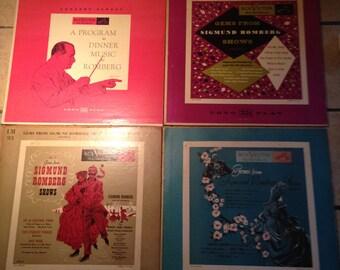 4 RCA Victor Sigmund Romberg Records