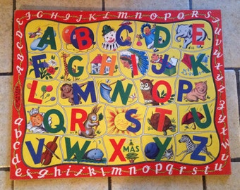 Alphabet Tray Puzzle by Walzer