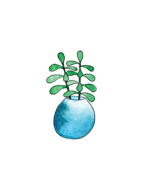 Succulent 5 print