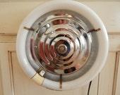 Vintage Florescent Kitchen Light Chrome