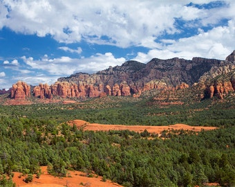 Sedona Arizona Photo Print - 11x14 Landscape Photography Print - American Southwest Art
