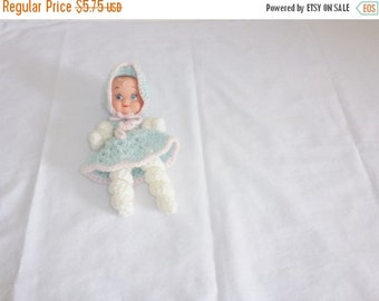 SALE // Vintage Knit Baby Doll