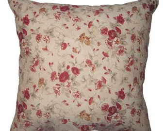 Waverly Vintage Fairhaven Rose Decorative Pillow - Free Shipping