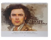 Hope is a thing with feathers Calendar 2017