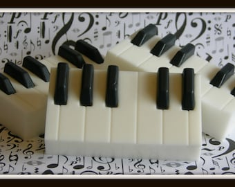 PIANO KEYS Soap - Pianist - Musician - Band - Orchestra - Music Student & Teacher - Conductor - Composer - Song Writer - Musical Instrument