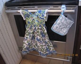 Blueberry Kitchen Towel Dress
