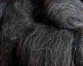 Louet Black Jacob Wool Roving