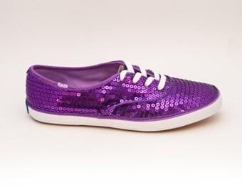 Sequin | Purple Keds Sneaker Canvas Tennis Shoes
