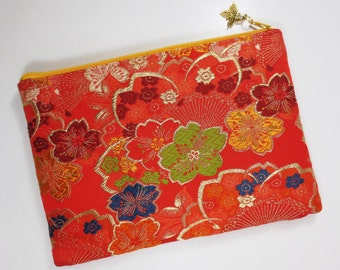 Obi iPad mini Case / Tablet Case Made From Vintage Obi - Sakura