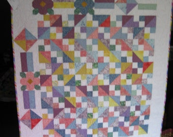 Baby Quilt- Girl