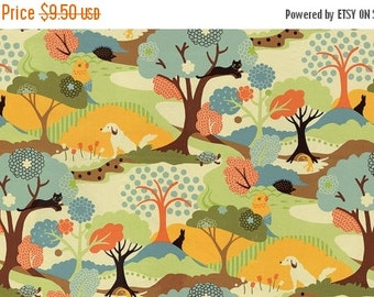 SALE Neco by Momo for Moda Hide and Seek in Coral Multi