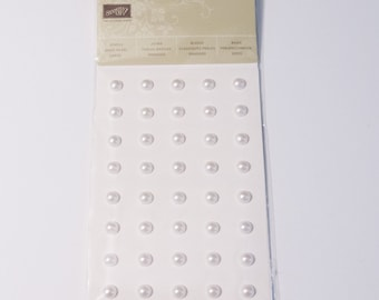 Stampin' Up! NEW large basic pearls
