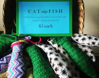 CATnipFISH toys for your cat